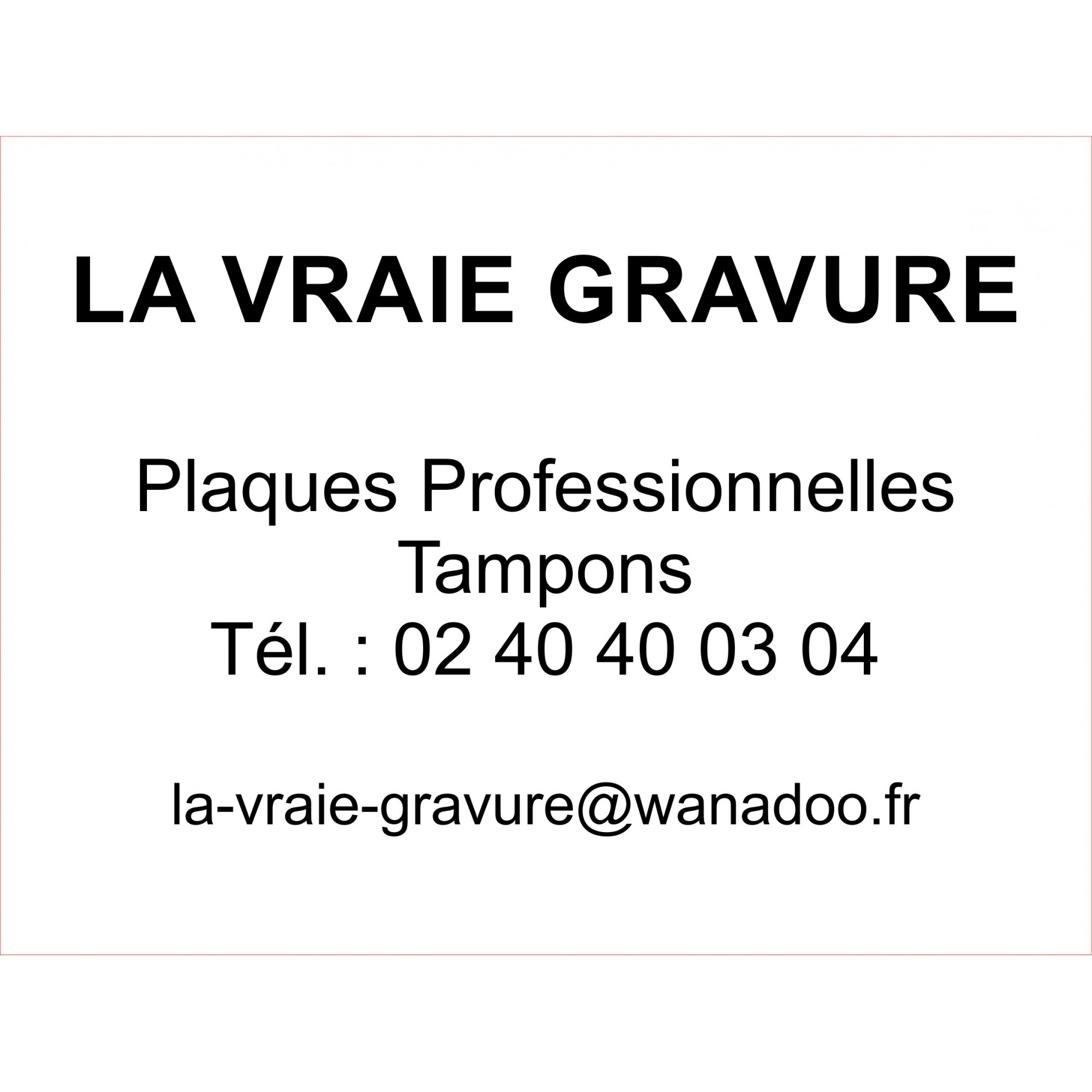 PLAQUE PLEXI GRAVEE 30x25 CM