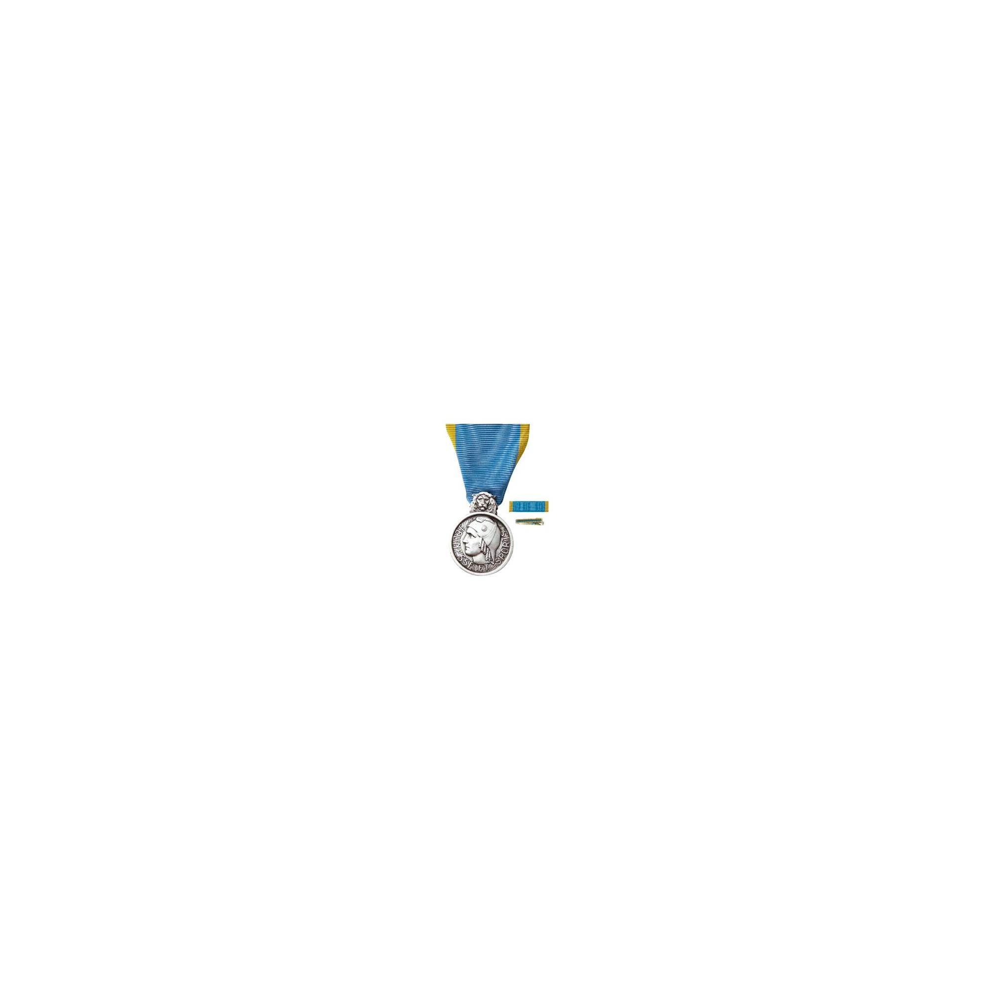 Médaille d'Honneur Jeunesse & Sports - Argent