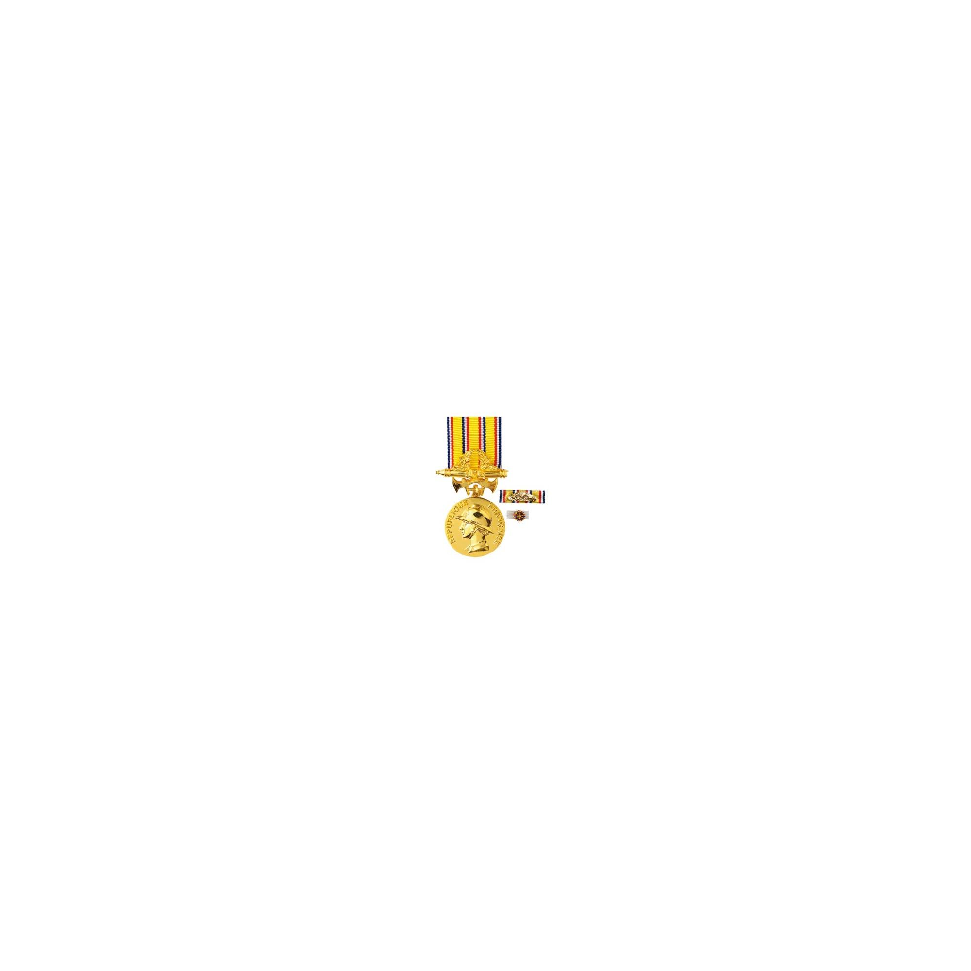 Médaille d'Ancienneté Pompiers -  30ans