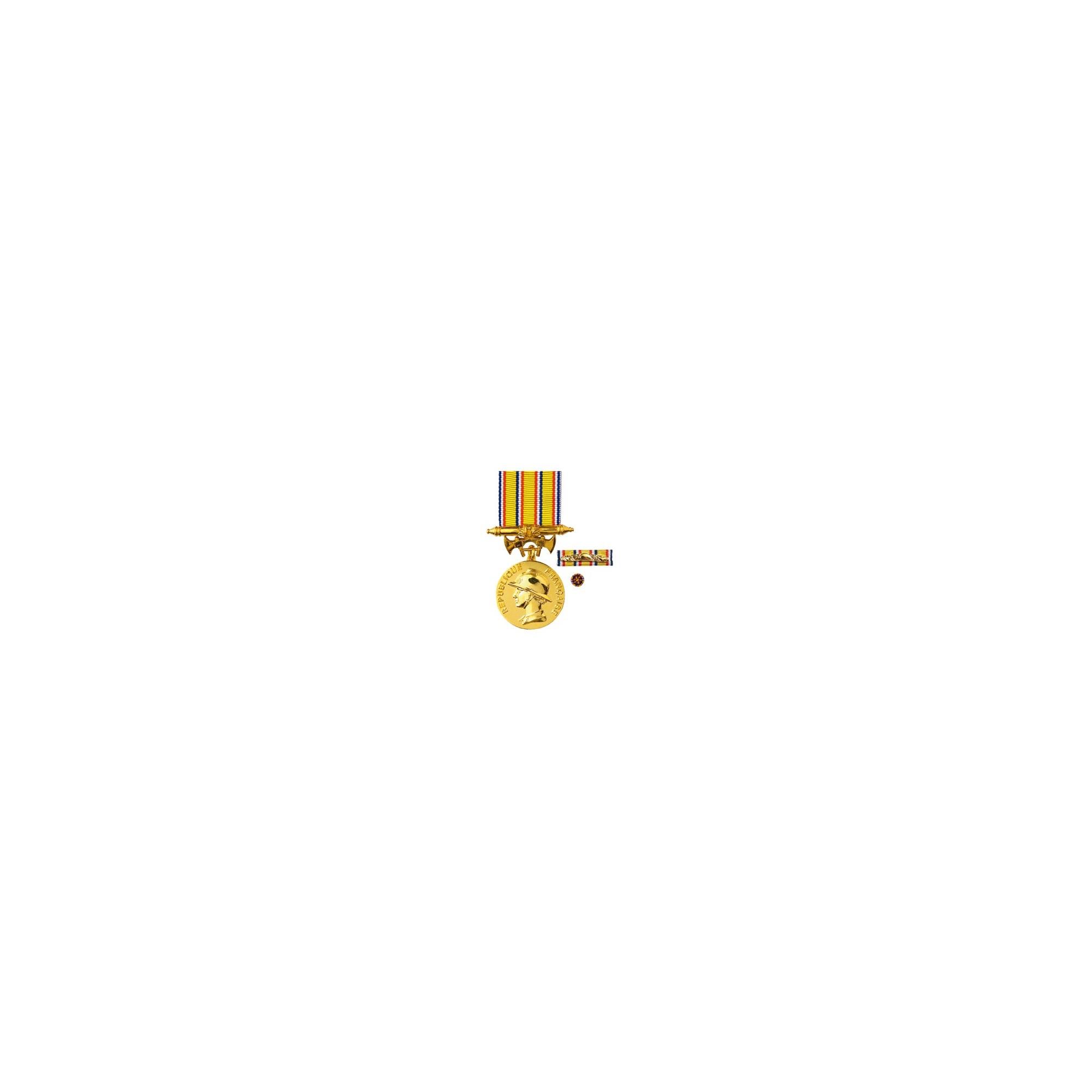 Médaille d'Ancienneté Pompiers - 25ans