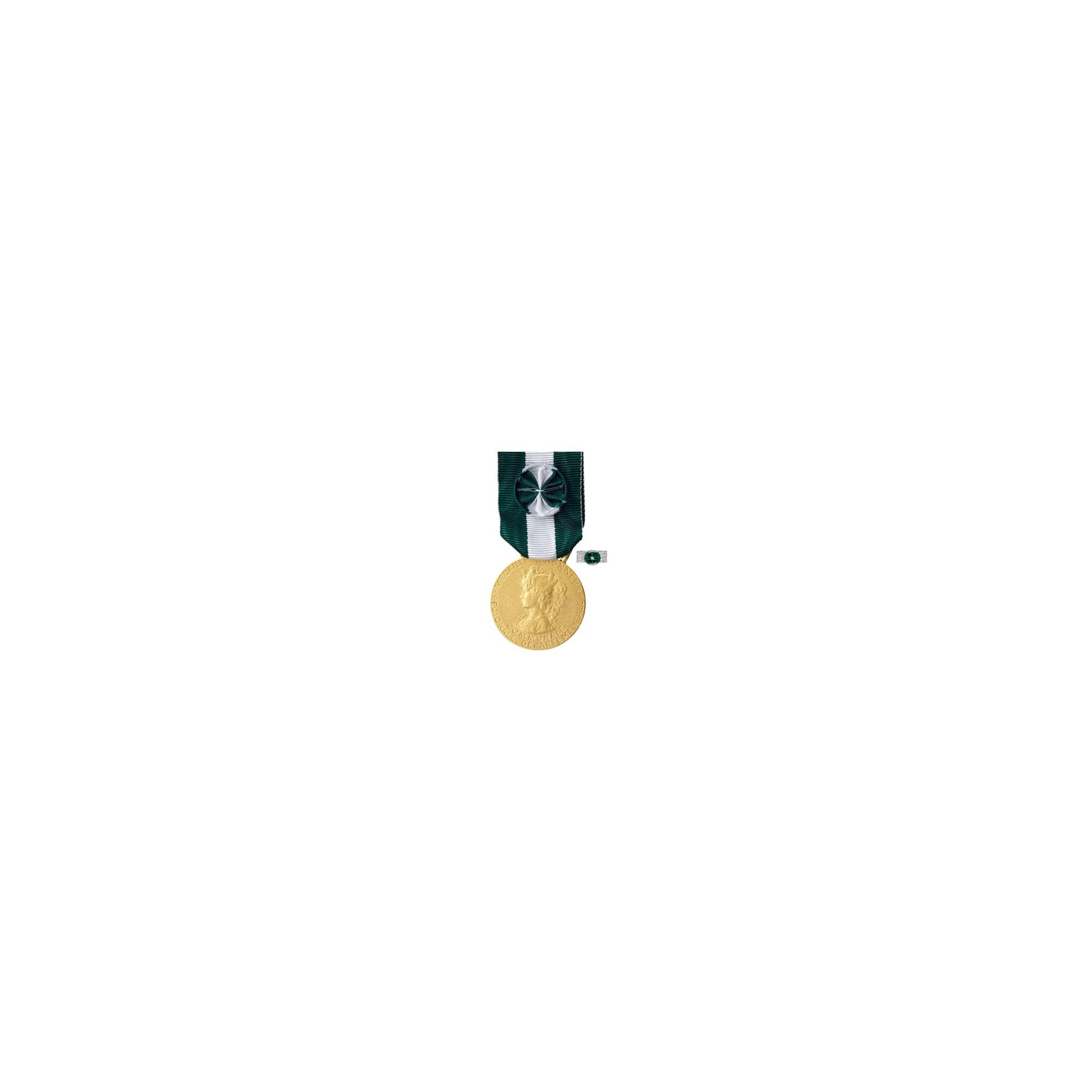 Médaille d'Honneur Régionale Départementale & Communale - Or