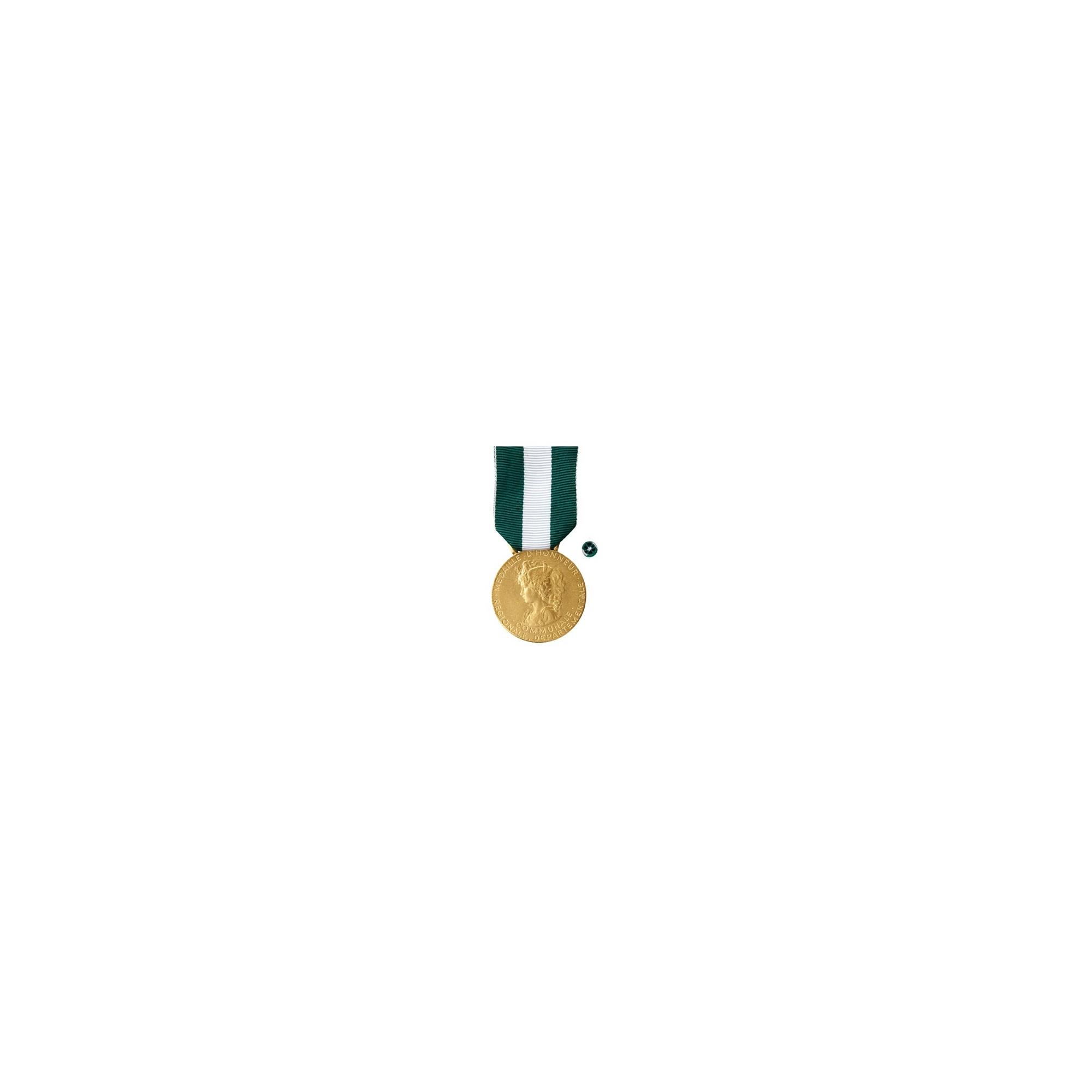 Médaille d'Honneur Régionale Départementale & Communale - Vermeil