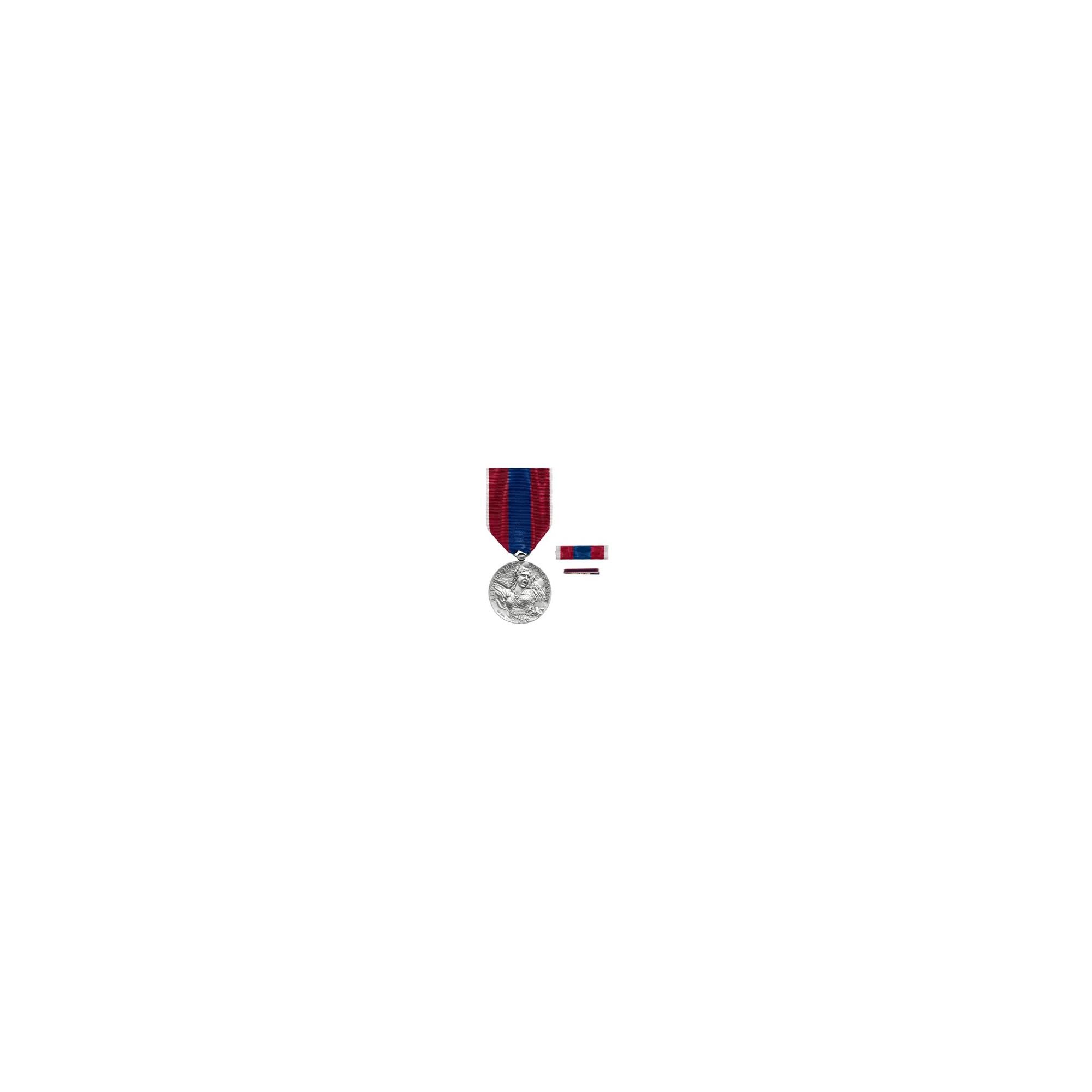 Médaille de la Défense Nationale - Argent