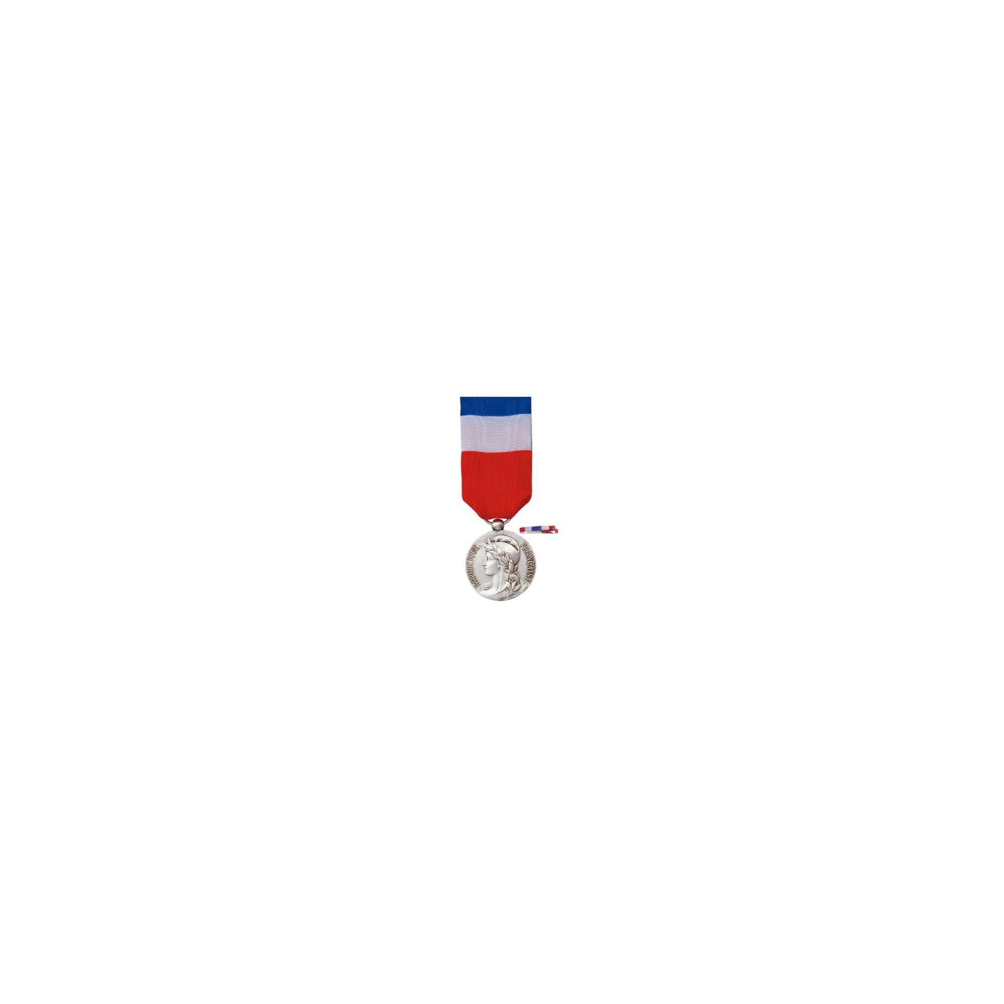 Médaille d'Honneur du Travail - 20ans - Bronze Argenté