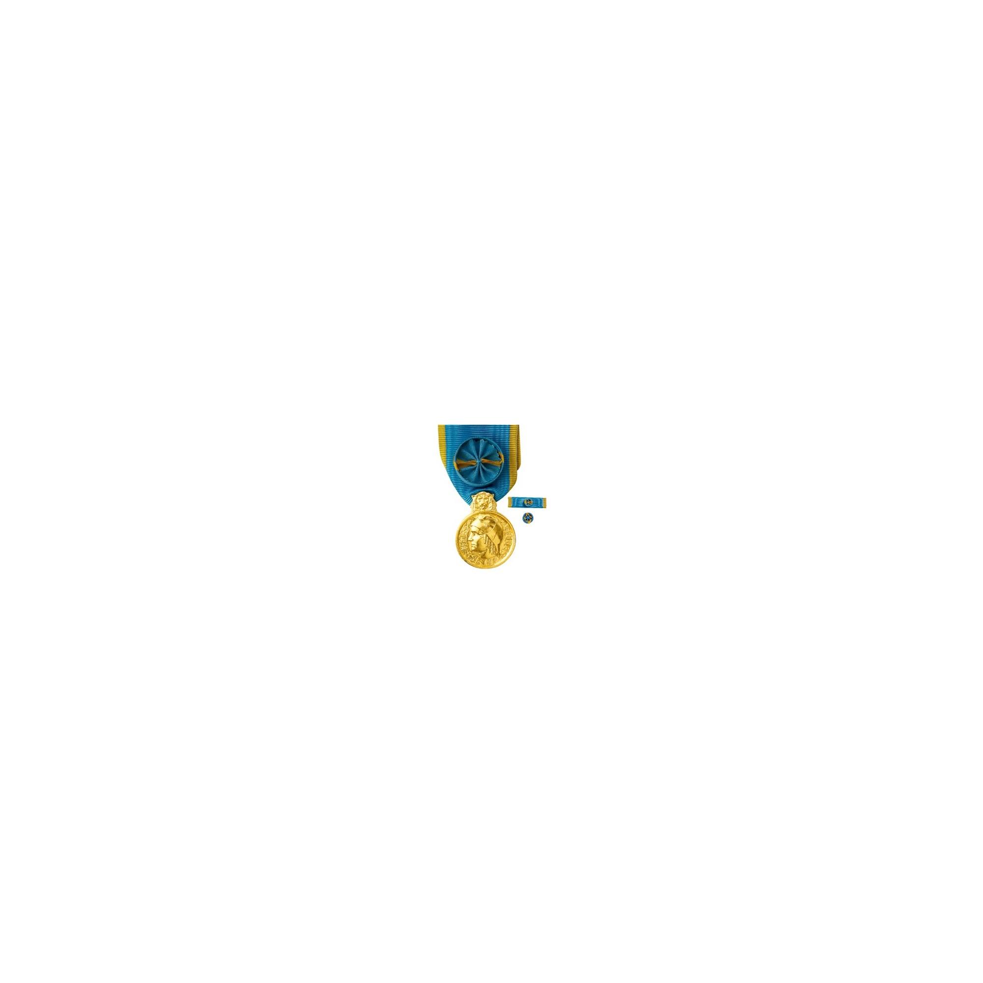 Médaille d'Honneur de la Jeunesse et des Sports - Or