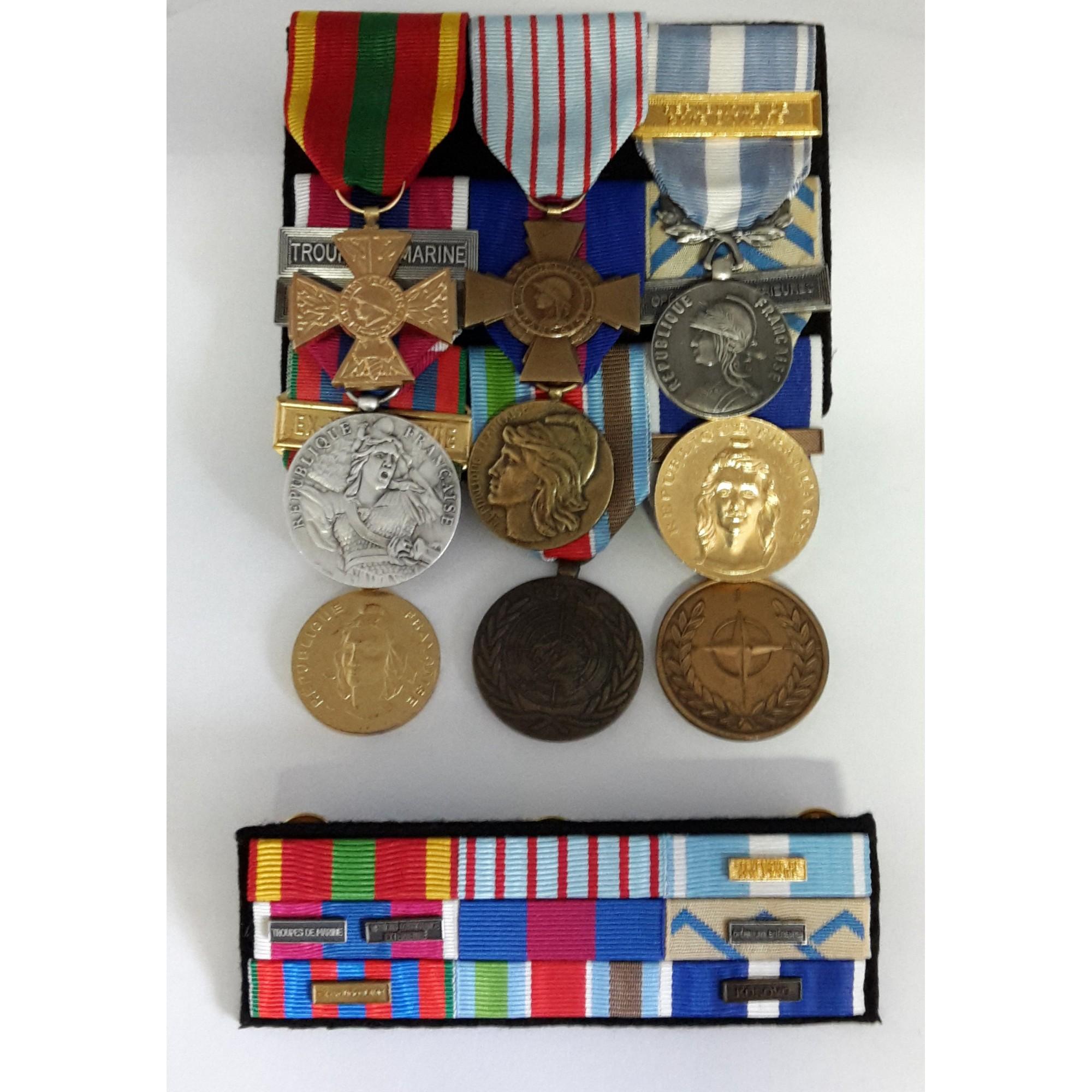 Montage de Médailles et Barrettes
